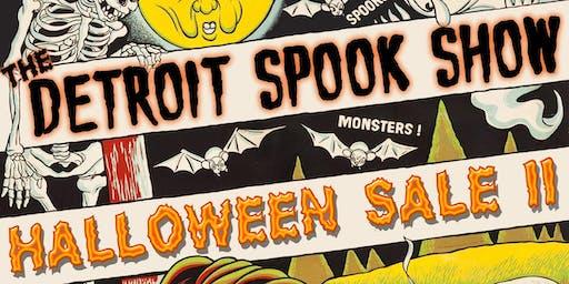 The Detroit Spook Show Halloween Sale II