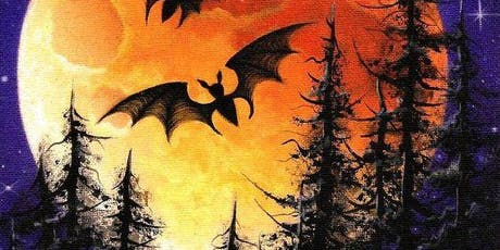 Paint Night in Canberra: Halloween tickets