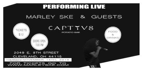 Marley SKE & Guests Live at Captiv8 Potato Bar (Pre-Sale Tickets Ends 10/1) tickets