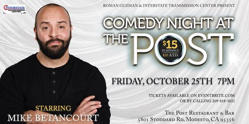 Comedy Night At The Post Starring Mike Betancourt