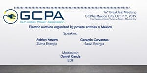 GCPA: Sixteenth Meeting Breakfast México City...