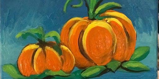 """Pour & Paint """"Pumpkin"""""""