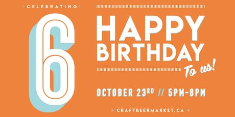 CRAFT turns 6! tickets