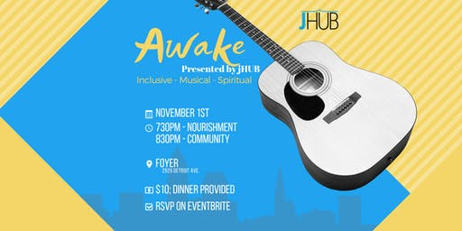 Awake presented by jHUB - November 2019
