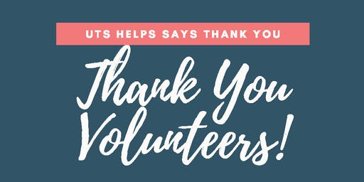 UTS HELPS Thank You Event 2019