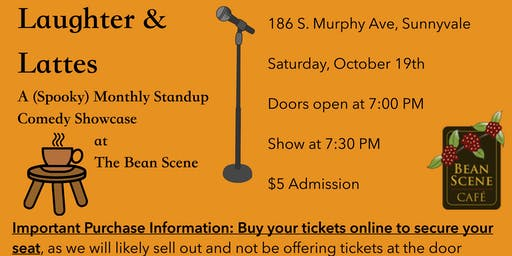 (Spooky) Laughter & Lattes: Stand-up Comedy Showcase at The Bean Scene Café