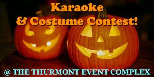 Karaoke & Costume Contest!