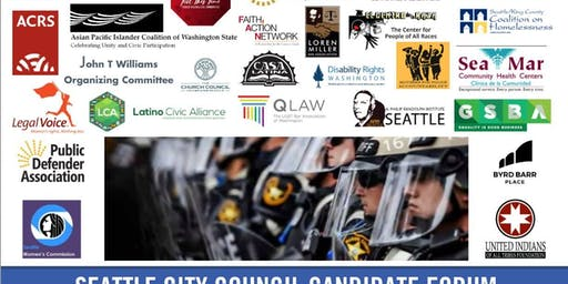 Seattle City Council Candidates Forum on Police Accountability