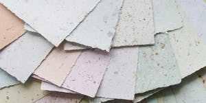 Recycled Papermaking with Sophia Allison A CraftLab Fam...