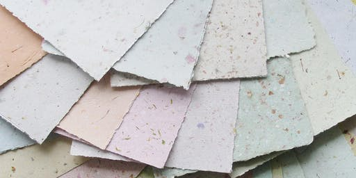 Recycled Papermaking with Sophia Allison: CraftLab Family Workshop