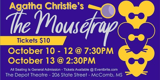 PCLT Presents: Agatha Christie's The Mousetrap