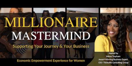 Millionaire Mastermind Business Forum (WOMEN ONLY) tickets