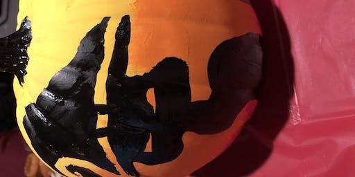 Pour & Paint Paint a personal Pumpkin