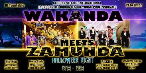 Wakanda Meets Zamunda: A Royal Affair with African Flare