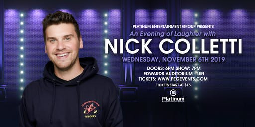 An Evening of Laughter with Nick Colletti