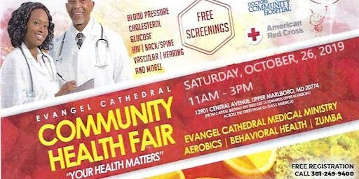 Evangel Cathedral Community Health Fair