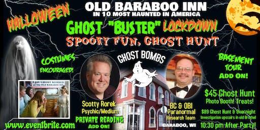 """HALLOWEEN """"Ghost Buster"""" Lockdown! GHOST HUNT in Real Haunt! Readings!"""