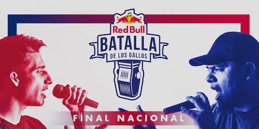Batalla de los Gallos Final Nacional: Estados Unidos