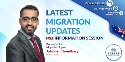 Migration Information Session