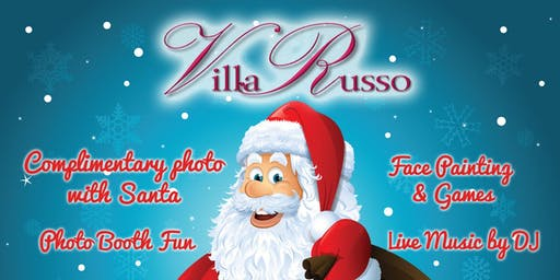 Villa Russo: Lunch With Santa