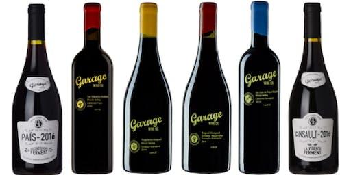 Garage Wine Co. Wine Tasting with Winemaker Visit
