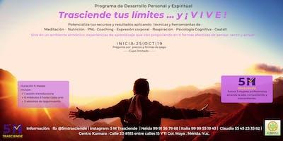 Programa Trasciende tus limites y ¡VIVE! (Completo)