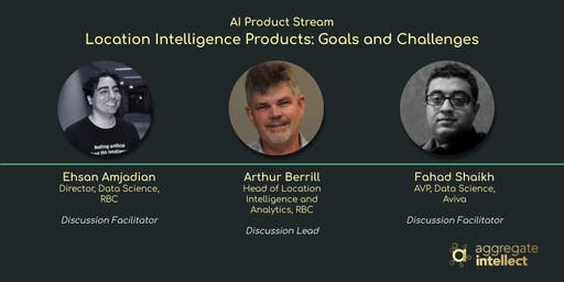 Location Intelligence Products: Goals and Challenges