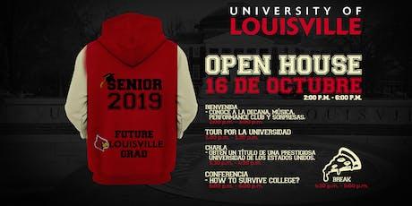 Open House University of Louisville entradas