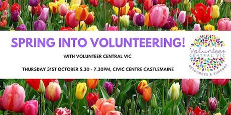 Spring into Volunteering! tickets