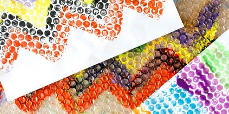 POP! Printing on Paper with Bubble Wrap A CraftLab Family Workshop tickets
