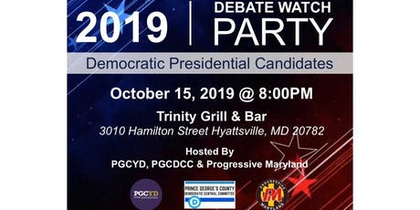 Presidential Debate Watch Party (hosted by PGCYD, PGCDCC, & Progressive MD) tickets