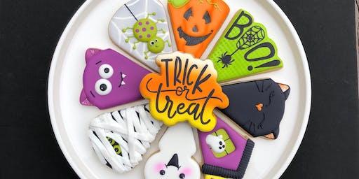 Trick or Treat Halloween Platter - INTERMEDIATE Cookie Decorating Class