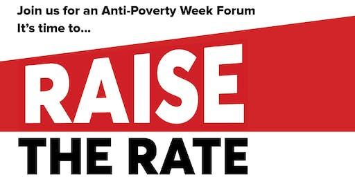 Raise the Rate Public Forum