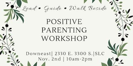 Positive Parenting Workshop tickets