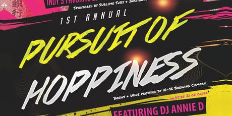 1st Annual Pursuit of Hoppiness tickets
