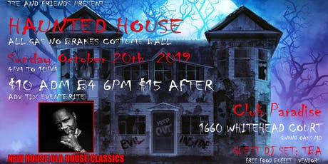 TTE HAUNTED HOUSE PARTY tickets