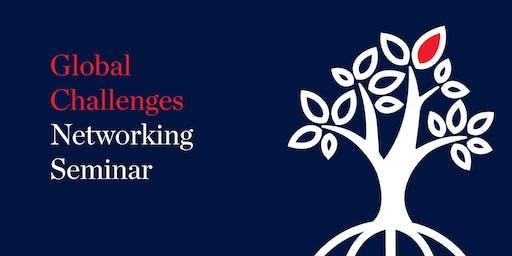 Global Challenges Networking Seminar - October 2019