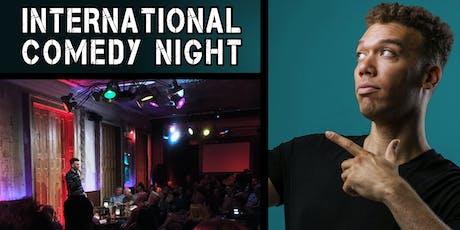 International Comedy Night (Halloween Edition) Tickets