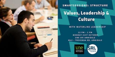 SMARTSessions: Values, Leadership & Culture – Armidale tickets