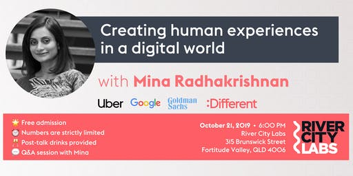 Mina from :Different on: creating human experiences in a digital world