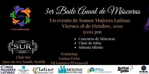 3rd Annual Masquerade Ball by Somos Mujeres Latinas