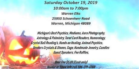 Michigan Psychic Fair Expo (Warren Elks)  tickets