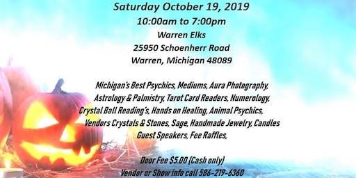 Michigan Psychic Fair Expo (Warren Elks)