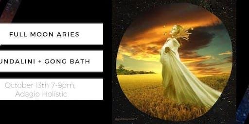 Full Moon Kundalini + Healing Gong Bath