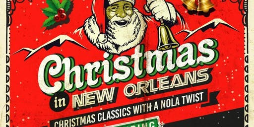 Christmas in New Orleans: Shanna Dance and Jonnie Bridgman - SOLD OUT!