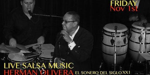 Salsa Night with Herman Olivera, 2x Grammy Award Winner