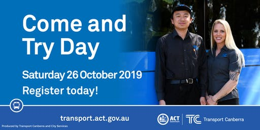 Transport Canberra - Come and Try Day