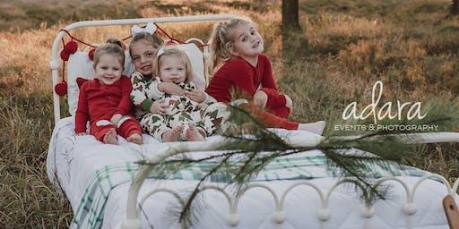 Christmas PJ Mini Session Event