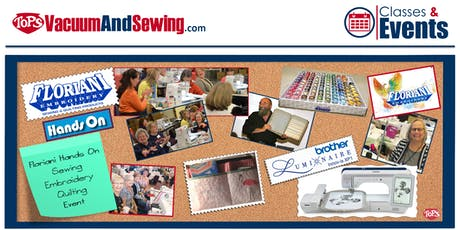 Floriani Hands-On Sewing, Embroidery, Quilting Event | Lakewood Ranch, FL entradas