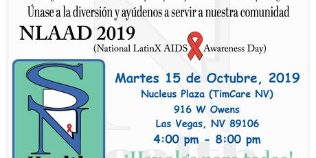 National Latinx AIDS Awareness Day 2019- LV tickets